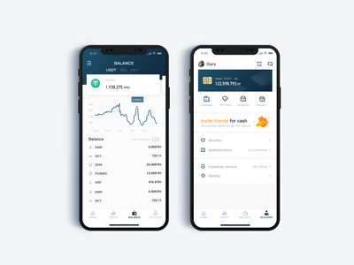 Cryptocurrency Finance Concept