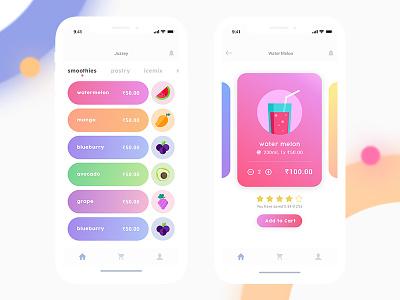 Juice - App color minimal andriod shop ios apps juice