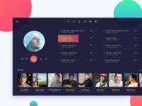 Music Player - Interface