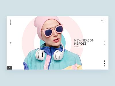 Victoria Passion ux design ui  ux passion website fashion design interface web ui