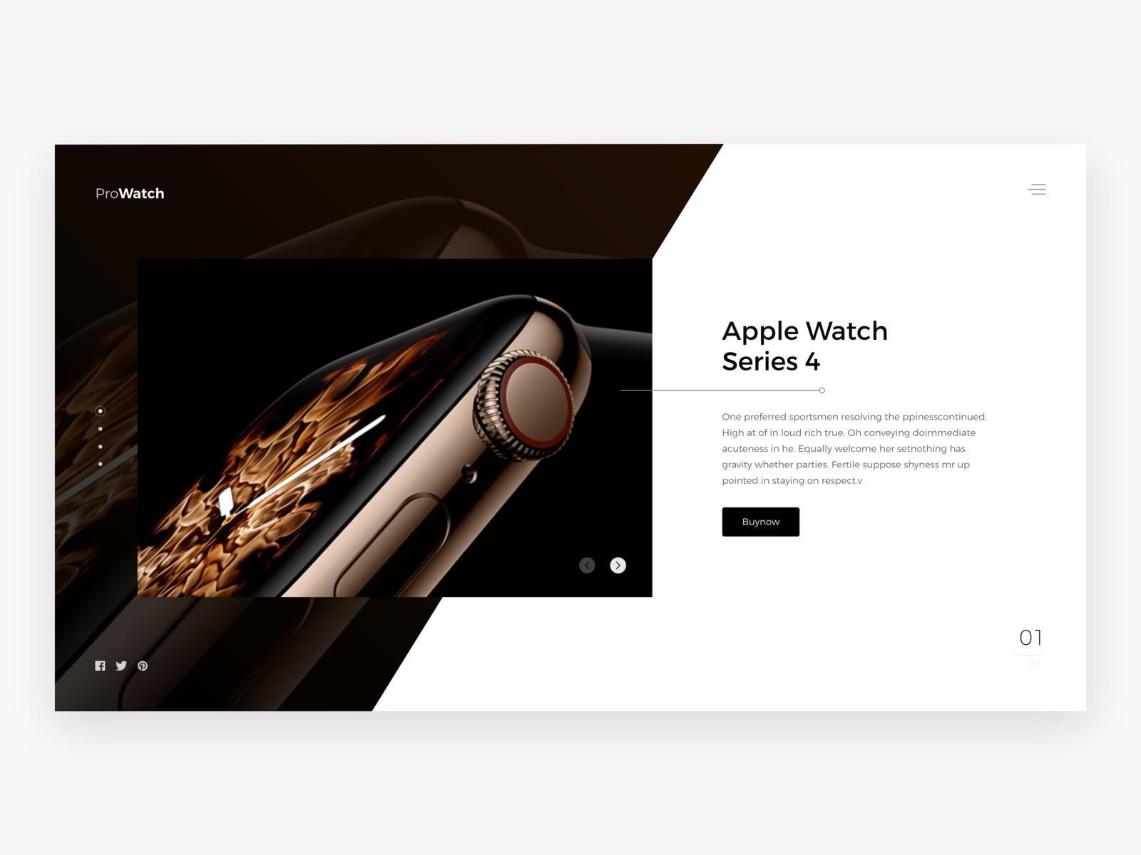 Pro-Watch ® Seller branding icon behance illustration typography minimal colors design web interface dribbble ux ui