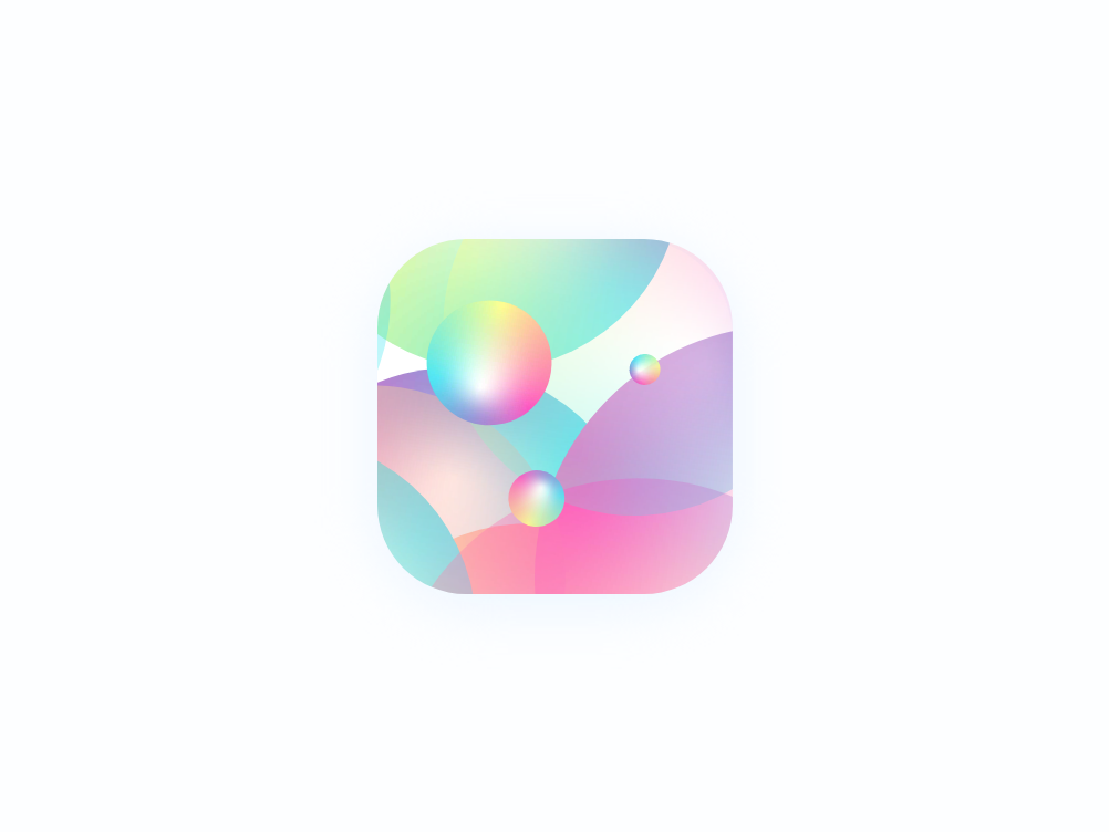 App Icon - Colors xd adobexd interface vector illustration behance colors dribbble ios ux ui design icon app playstore appstore coloful color icon app
