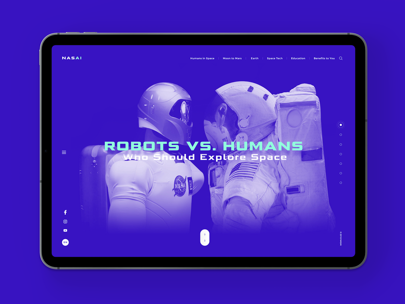 Artificial Intelligence in Space apps interface earth human artificial intelligence uiux ipadpro nasa space dribbble illustration behance web colors design minimal app ios ux ui