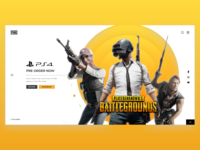PUBG - Web Interface