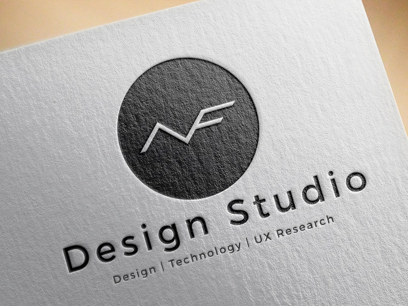 NVF Design Studio - Branding type logo a day website ios minimal colors apps web behance typography interface illustration dribbble ux ui logo 3d company design brand logo
