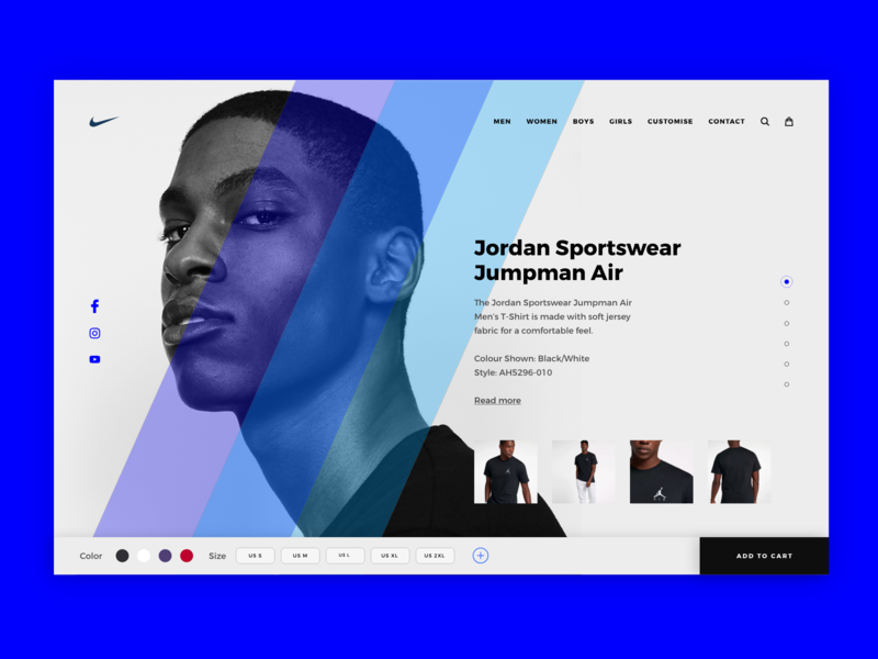Nike Mens web vector icon branding typography behance colors design minimal app interface dribbble ux ui