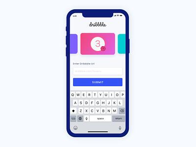 3 Dribbble Invite branding behance colors design minimal interface ui ux app invite dribbble invite dribbble