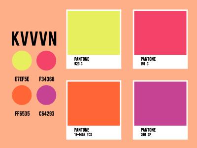 KVVVN Palette