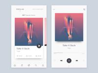 Simple music app