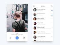 Social App - Camera UI