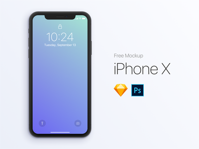 [FREE] iPhone X Mockup iphone x template iphone psd sketch photoshop mockup mobile interface free device ios