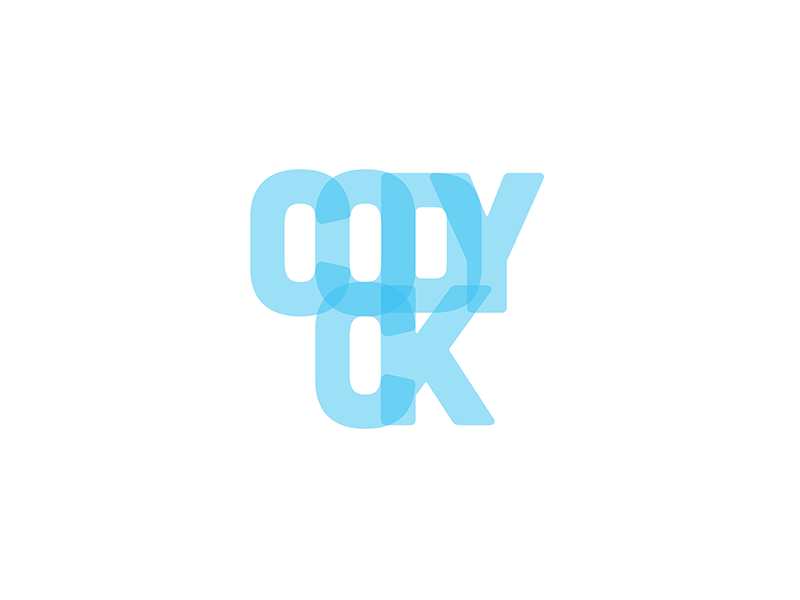 Name Design logo brand blue type typography letters opacity kerning