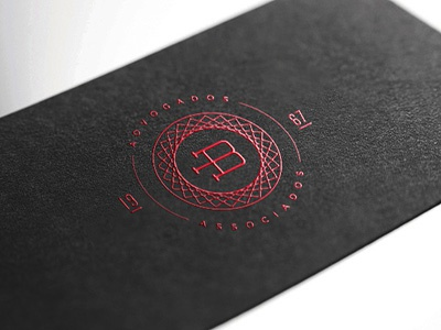 Benício Lawyers business cards identity stationary lawyer lawyers red black serigraphy business cards