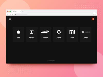 UI/UX - Web Application