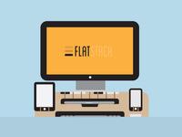 Flatstack - Laptop Stand
