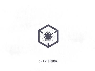 Icon - Smartbiobox biology gray logo delivery box bio smart icon