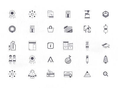 Design School - icons politecnico di milano icon design app branding fashion design school design icon