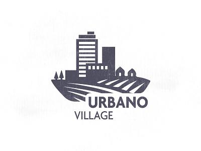 Urbano Village village urbano realestate city building graphicdesign logo icons icon