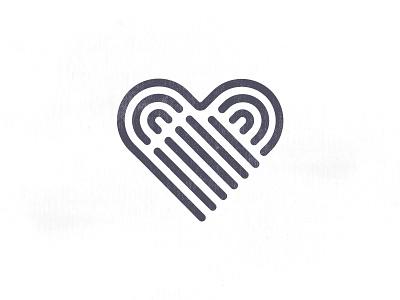 A&S Logo Design innovative tech smart love red finger digital logo touch heart