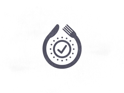 Lunch Time logo icon smart app logo time delivery break lunch