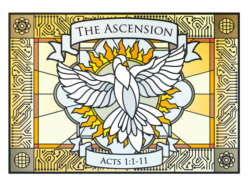 Ascension Day Of Jesus Christ By Riana Desiani On Dribbble