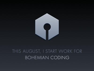 Bohemian Coding sketch bohemian coding announcement