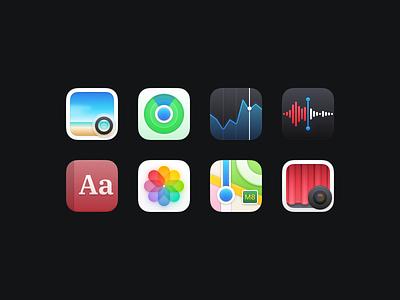 Bondi Icons (Part Three) macosx macos illustration icon set icons icon freebie figma download apple app