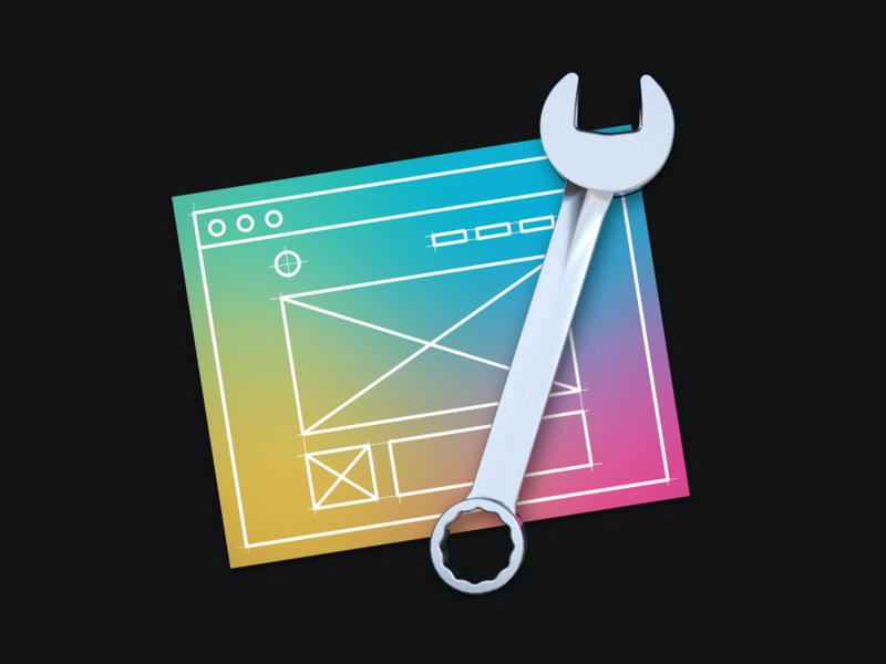 Spanner for Mac xcode macosx detail macos illustration icon sketch download apple app