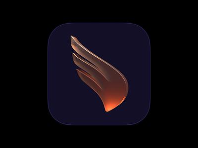 Dash for iOS app 3d blender logo ios icons icon
