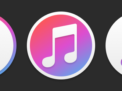 Apple Music for Glacier itunes soon freebie glacier replacement icon