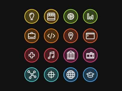 Pretty Tite™ freebie glyphs icons