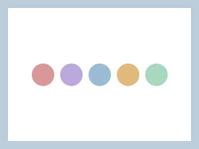 Branding colors palette identity branding