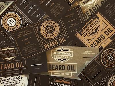Labels For Days labels beard oil packaging design branding