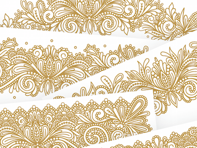 Details intricate detail pattern lace