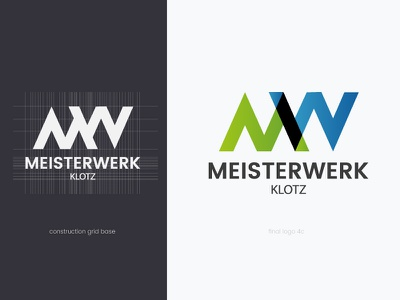 Meisterwerk Logo simple logo identity icon geometry