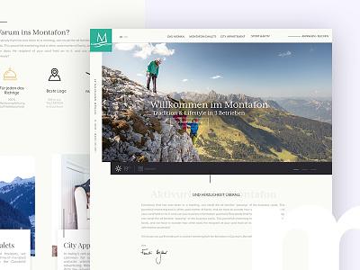 Montafon Hotels typo3 responsive website apartement chalets hotel montafon