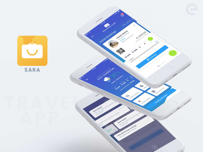 Travel App app concept digital app travel