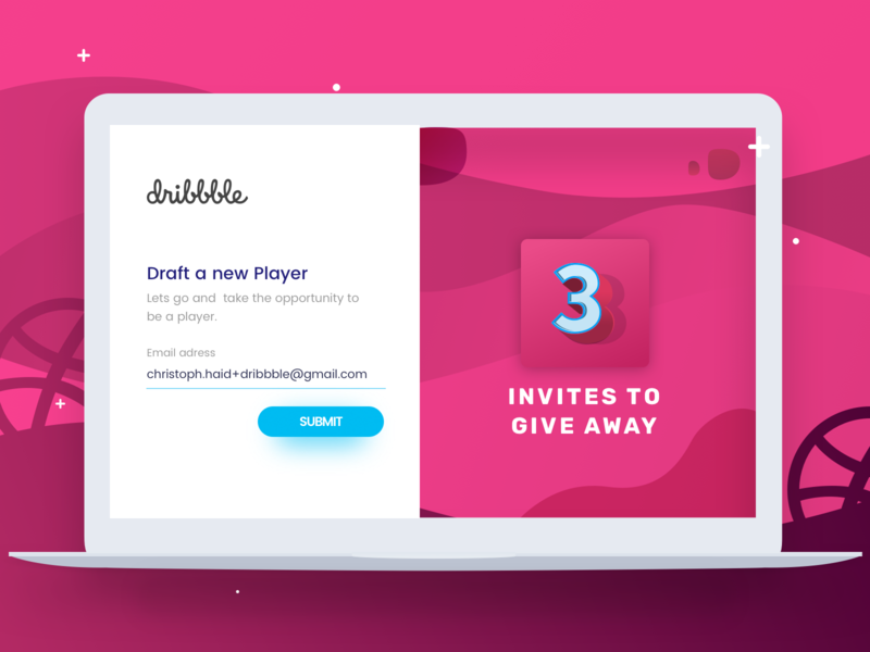 Dribbble Invites Give Away giveaway invite away