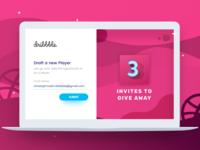 Dribbble Invites Give Away