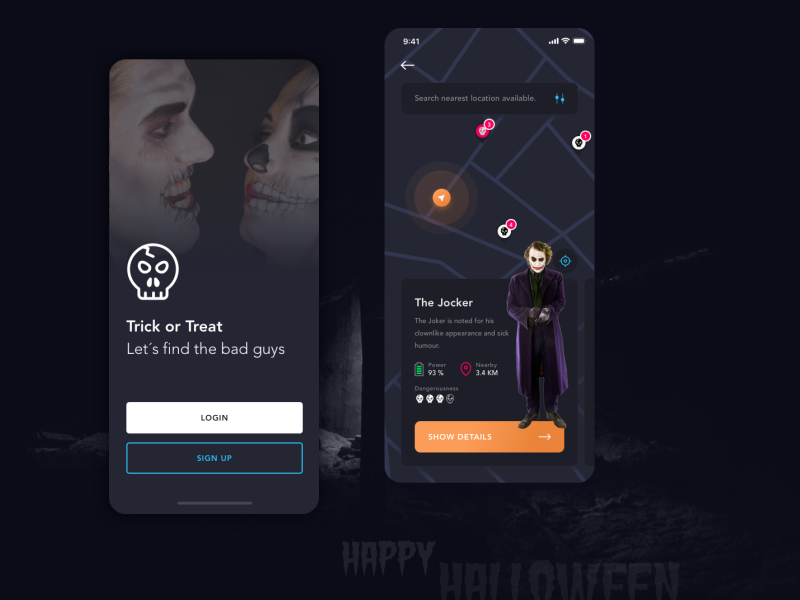 Spooky Halloween to everyone! weekly warm-up mobile app spooky halloween