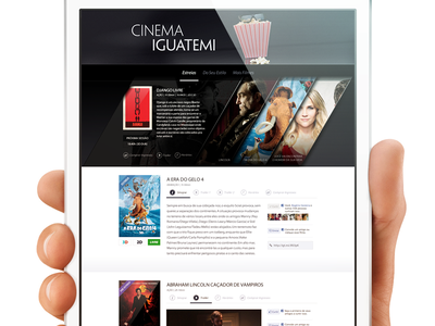 Down For A Movie? ui ux movies web