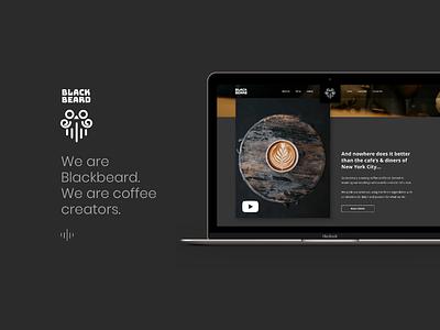 Blackbeard coffee house. We are coffee creators. web ux user ui prototype mobile interface interaction fashion experience creative app