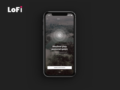 LoFi. Finding your personal space. The Parking App uidesign uxdesign web ux user ui prototype mobile interface interaction experience app