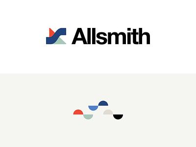 Allsmith Logomark logomark helvetica neue logo design logo branding typography