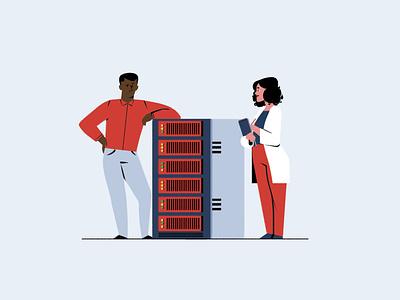 Engineers lab data server it engineer