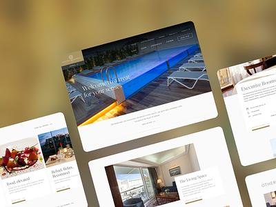 Luxury Hotel UI Designs ux design branding interaction app animation ui design typography ui gradient