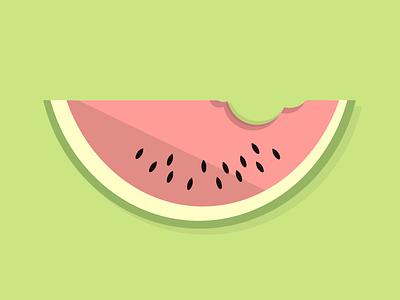 Watermelon watermelon summer fruit illustration food
