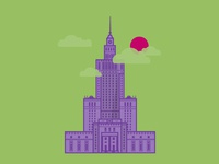 Warsaw - Palace of Culture and Science