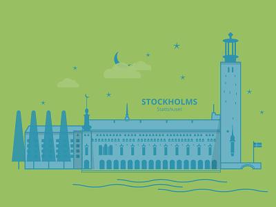 Stockholm - City Hall nobel prize architecture city hall stockholm