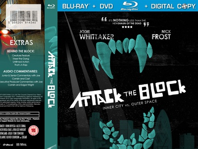 Attack the Block Blu-Ray Case attack the block blu-ray redesign poster
